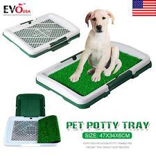 DOG ANIMAL PUPPY PET POTTY TRAINING PAD TOILET LITTER MAT TRAY GRASS PEE PAD