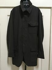 RARE! Donna Karan Collection Military Inspired Jacket Coat Made in Italy Sz. M
