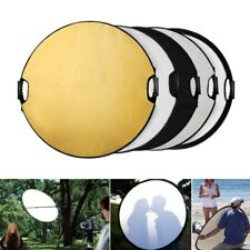 "110cm Photography Studio Multi Photo Disc Collapsible Light Reflector 43"" 5 in 1"