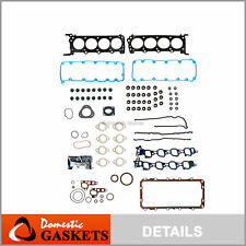 Full Gasket Set Fits 2009-2014 Ford E-150 E-250 E-350 Super Duty 5.4 SOHC V8 16V