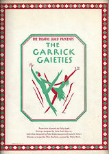"Johnny Mercer ""GARRICK GAIETIES"" Vernon Duke / Imogene Coca '30 Souvenir Program"