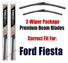 Wipers 2-Pack Premium Beam Wiper Blades fits 2011+ Ford Fiesta - 19240/160