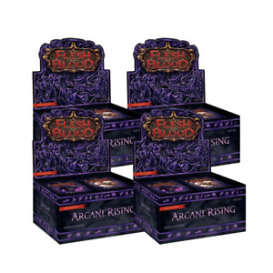 Generic Flesh and Blood Arcane Rising Unlimited Booster 4x Box Break #343
