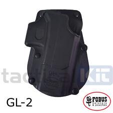 Genuine Fobus Glock 17 19  Roto Rotating Paddle Holster UK Seller GL2 RT