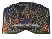 2019-20 Panini Obsidian LEBRON JAMES VITREOUS /99  - RARE SSP Case Hit! Lakers