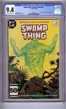 Saga of the Swamp Thing #37 CGC 9.4  1st appearance of John Constantine