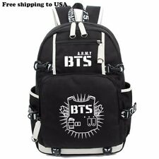 KPOP Bangtan Boys BTS Luminous Bookbag Shoulder Bag Backpack School Bag