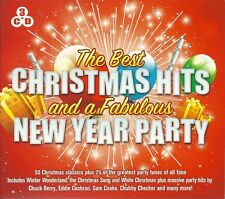 THE BEST CHRISTMAS (XMAS) HITS AND A FABULOUS NEW YEAR PARTY - 3 CD BOX SET