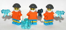 3 FREEZE / PENGUIN HENCHMEN - LEGO MINIFIGURES - CUSTOM characters GOTHAM CITY