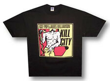 Iggy Pop-James Williamson-The Stooges-Kill City-X-Large Black T-shirt