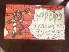 POGS/MILKCAPS  MAD CAPS  (A WORLD GONE MAD!)  UNOPENED BOX WITH (30) PACKS