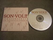 RARE ADVANCE PROMO Son Volt CD Straightaways JAY FARRAR Uncle Tupelo Gob Iron 97