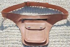 Genuine Leather Fanny Pack Waist Pack Festival Bag Belt Bag Women Hip Bag Men