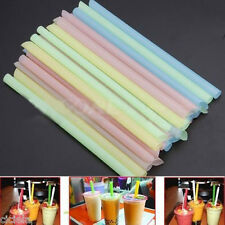 33X Multi Boba Tea Fat Dringking Straws Party Smoothies Jumbo Thick Drink Straw