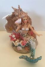 Katherine's Collection Treasures Of The Sea Mermaid In Shell New
