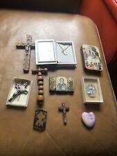 More details for bin religious artefacts - crosses etc lot