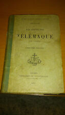 Fénelon - Les Aventures de Télémaque - Librairie Ch. Poussielgue (1893)