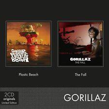 GORILLAZ - PLASTIC BEACH/THE FALL 2 CD NEW+