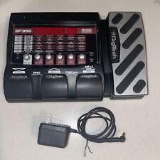 Digitech BP-355 Bass Multi Effects Pedal Processor Free Shipping W/ Power Supply