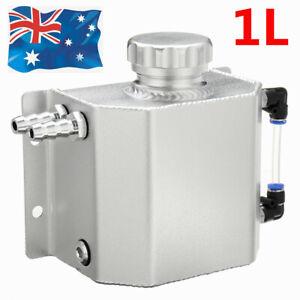 1L Aluminum Radiator Coolant Overflow Tank Recovery Water Bottle Reservoir