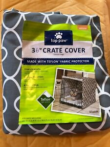 """Top Paw"" 36"" Dog Crate Cover (New)"