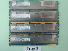 Hynix Server ECC 16GB 4x4GB 2Rx4 PC3-8500R 1066 Mhz HMT151R7BFR4C-G7 DB #Tray 3