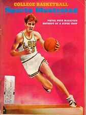 1969 12/1 Sports Illustrated, magazine, College Basketball,Pete Maravich,LSU~FrS