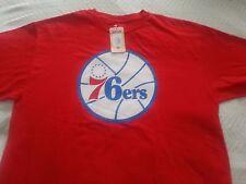 NWT Majestic Philadelphia 76ers Mens T-Shirt XL $30 Retail