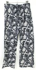 Marvel Punisher Lounge Pants Men Sz M Sleepwear Pajama PJs Superhero Skull Bones