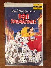 NEW 101 Dalmatians VHS BLACK DIAMOND edition Walt Disney Classic