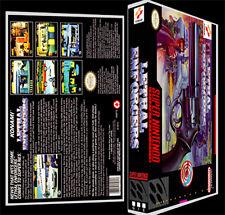 Lethal Enforcers - SNES Reproduction Art Case/Box No Game.