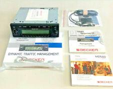CDR DTM Navigation Komplett CD-Player Radio Navi ECE (blau) Becker BE7815