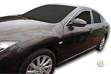 Mazda 6 GH 2007-2012 conjunto de frente viento desviadores Heko teñido 2pc