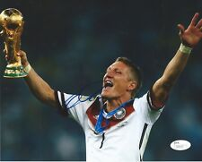 BASTIAN SCHWEINSTEIGER Signed Autographed 8x10 Photo Germany World Cup JSA COA