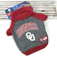 Oklahoma Sooners NCAA Team  / Pets First Dog T-Shirt Jersey Hoodie / Size Small