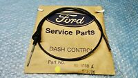 XD FALCON ZJ FAIRLANE FC LTD GENUINE FORD NOS CHOKE CABLE ASSY - 3.3 & 4.1 LITRE