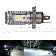 H4 Hi/Lo 40W 6000K 9-85V Motorcycle ATV LED Bulb DRL Headlight Lamp Universal