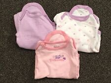 First Moments Girls One Piece, 3 Months, Set Of 3