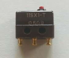 11SX1-T honeywell subminiature micro switch single pole double throw lot of (2)