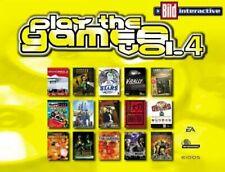 Play the Games Vol. 4 PC 14 Spiele Tomb Raider IV Sim City 3000 Worms Armageddon