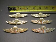 MILITARY BADGE PINS US ARMY PARATROOPER AIRBORNE WINGS Veteran NEW Pins Lot of 6