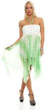 5606 Cocktailkleid Sommer Knielanges Kleid dress Chiffonkleid 6 Farben