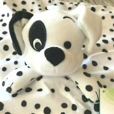 Disney Baby Plush Blankie 101 Dalmatians Puppy Dog Lovey Stuffed Animal Lovie