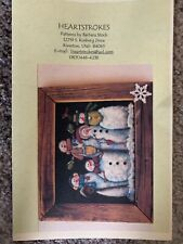 "Craft Painting on Screen ""Snowmen"""