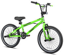 """Madd Gear 20"""" Heavy Duty Steel Kids Outdoor Freestyle Bmx Boy's Bike, Green New"""