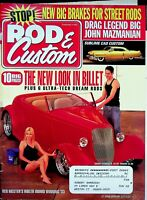 Vtg Rod & Custom Magazine August 2006 Drag Legend Big John Mazmanian  m1216