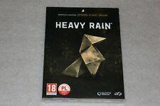 Heavy Rain PC BOX EDITION, Artbook, Origami & Poster