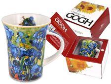 Vincent van Gogh Schöne Tasse Becher blaue Iris / Schwertlilien 350 ml Carmani