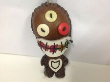 New Handmade Genuine Leather FRIGHTEN AND FREAKY Doll  --UNIQUE--  [3rd Eye]