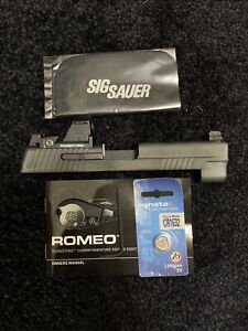 SIG SAUER P226 MK25 SLIDE-226-9-B-RXP 9mm Suppressor Height Sights Romeo1PRO